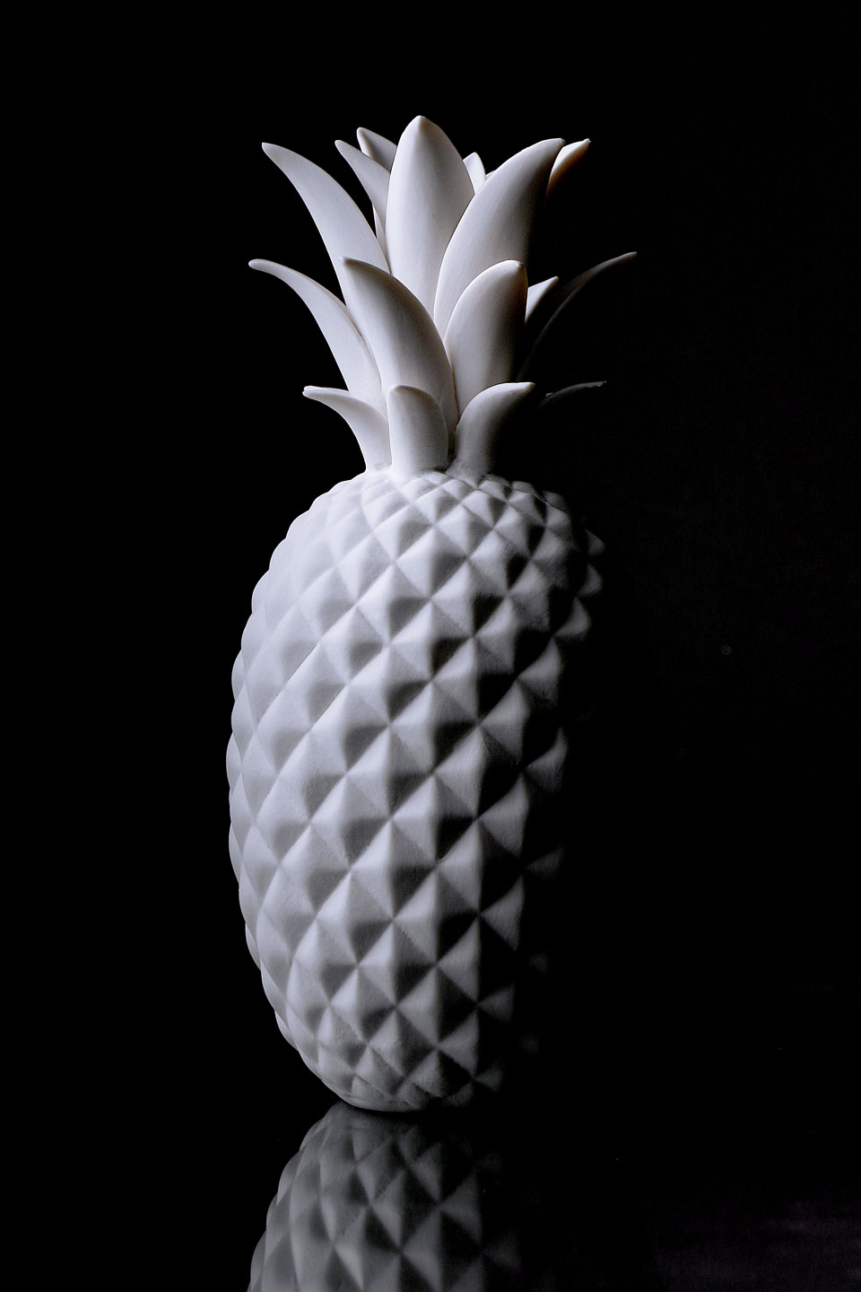 French Photographer Paris Accessories Porcelain Pineapple