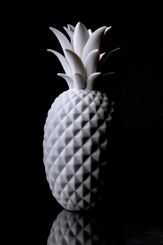 French Photographer Paris Accessories Porcelain Pineapple