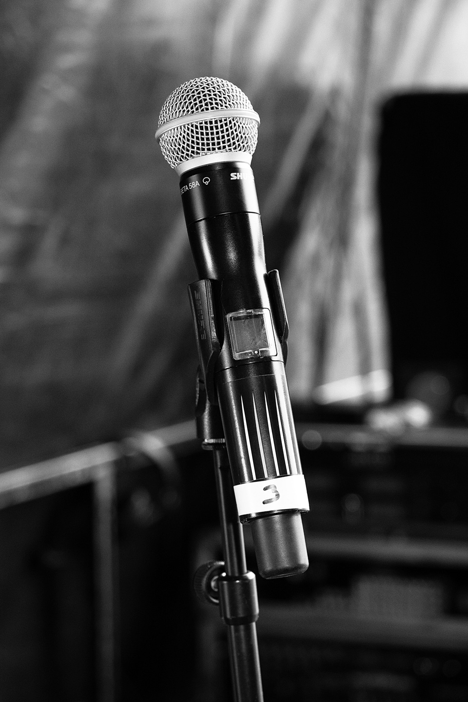 French Photographer Art Photography Microphone on stage