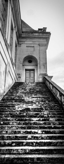 French Photographer Art Photography Staircase of Château deFontainebleau