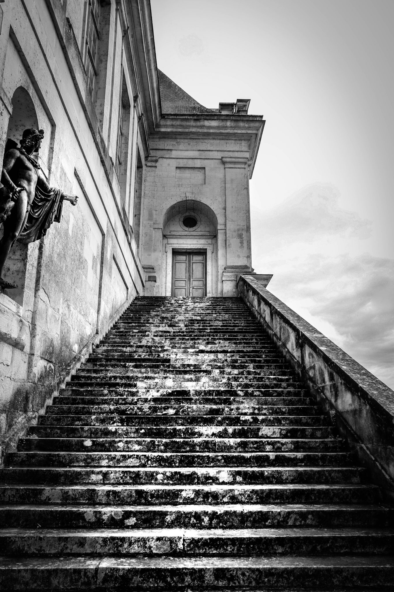 French Photographer Art Photography Staircase of Château de Fontainebleau