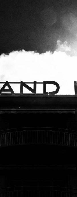 French Photographer Paris France Art Photography Le Grand Hôtel Sign