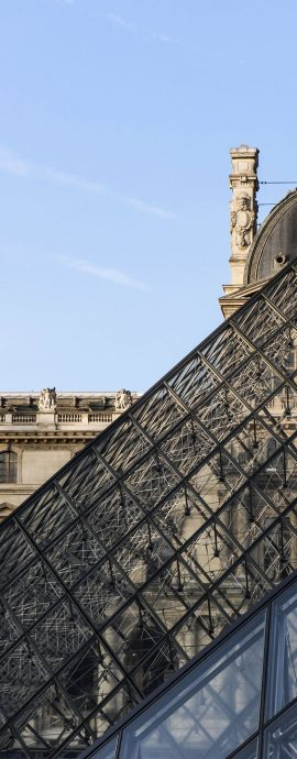 French Photographer Paris France Art Photography The Louvre museum and its pyramids