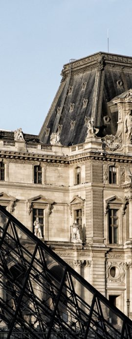 French Photographer Art Photography The Louvre museum and its pyramids