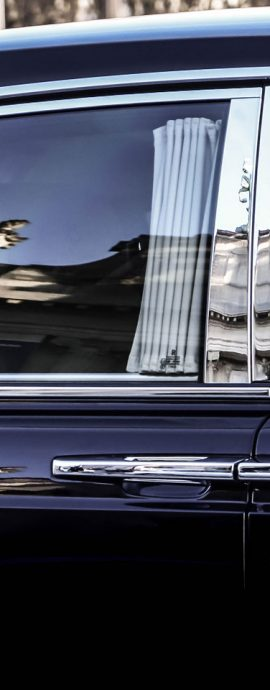 French Photographer Art Photography Rolls Royce Reflections