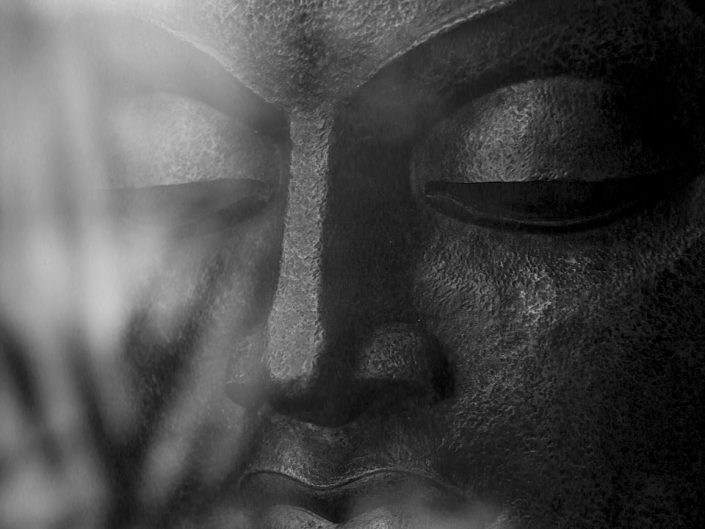 French Photographer Paris Studio Portrait Photography Buddha with Reflections