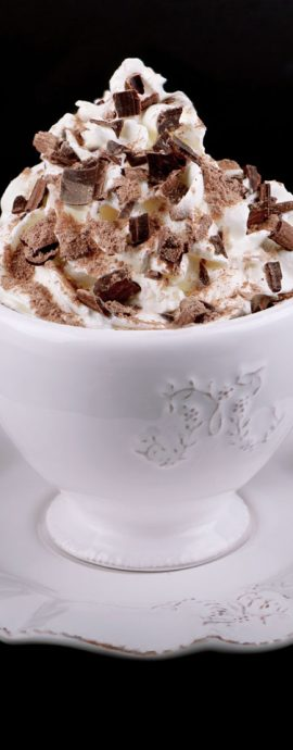 French Photographer Food Photography Viennese Hot Chocolate