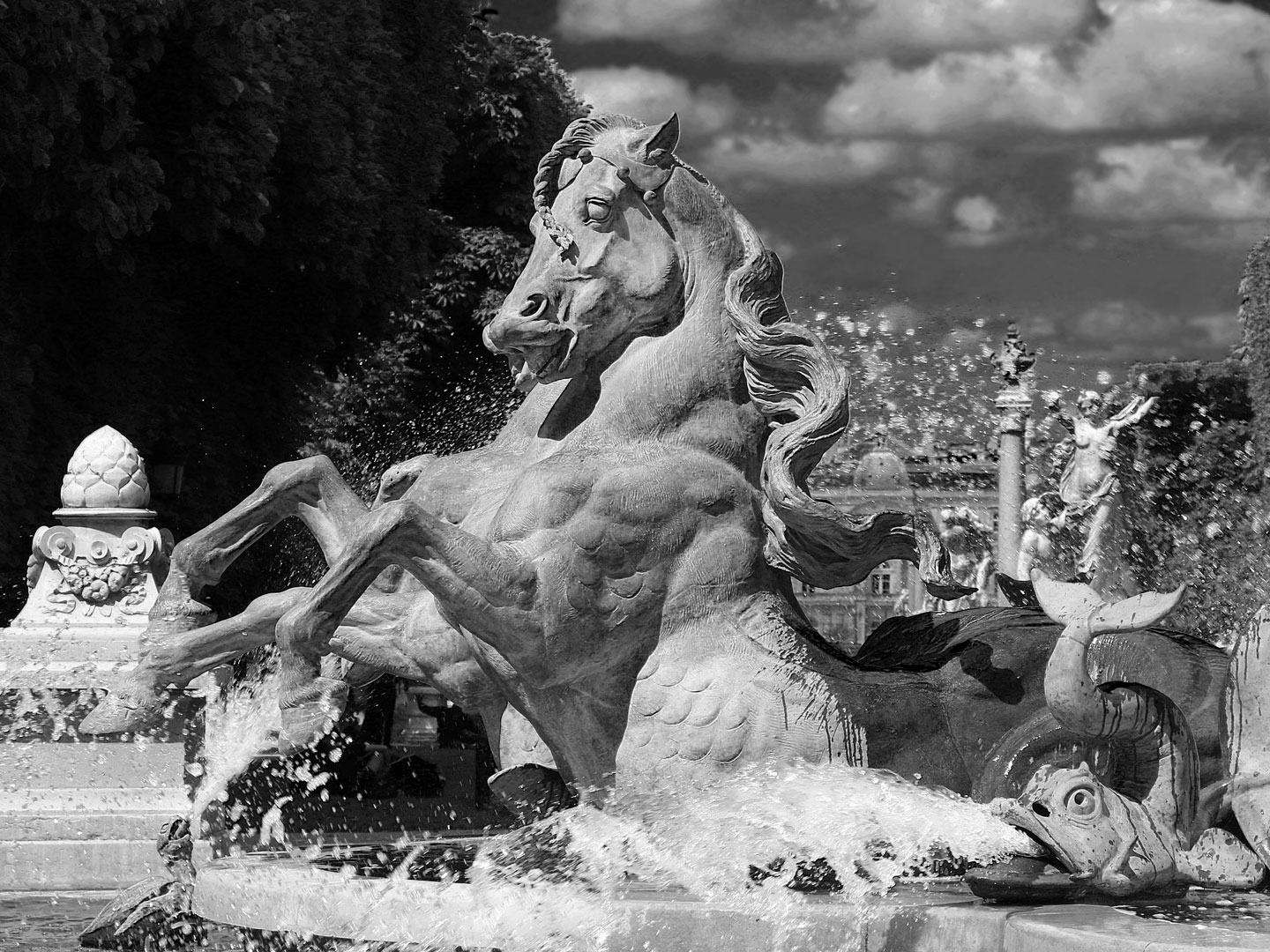 French Photographer Art Photography Jardin du Luxembourg Carpeaux Fountain