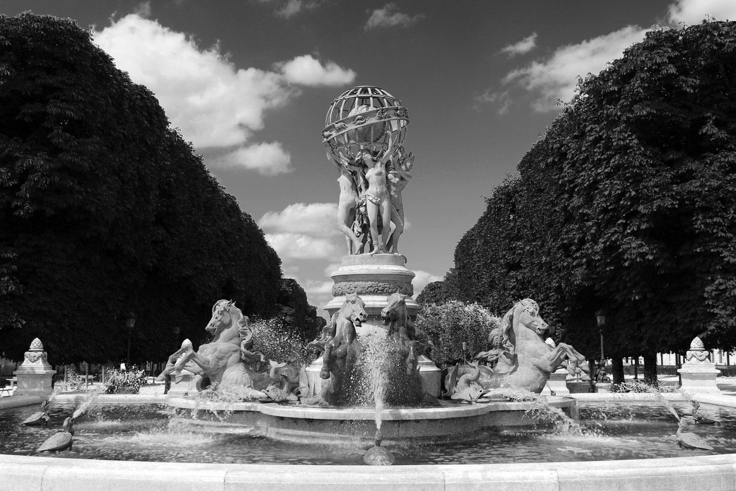 French Photographer Landscape Photography Jardin du Luxembourg Fountain