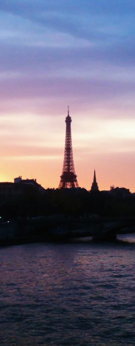 French Photographer Landscape Photography Eiffel tower at sunset
