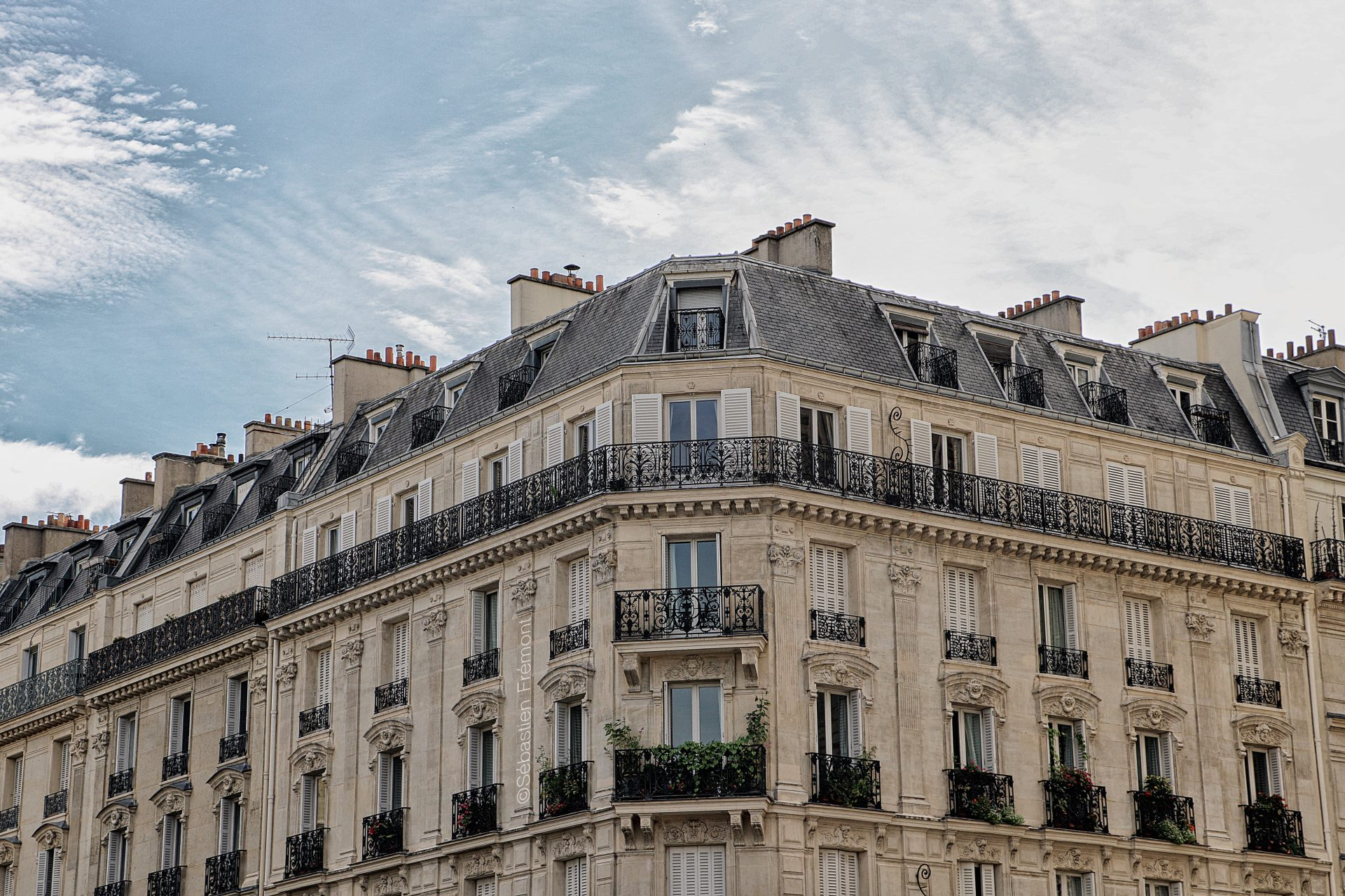 French Photographer Landscape Photography Paris / Haussman Building