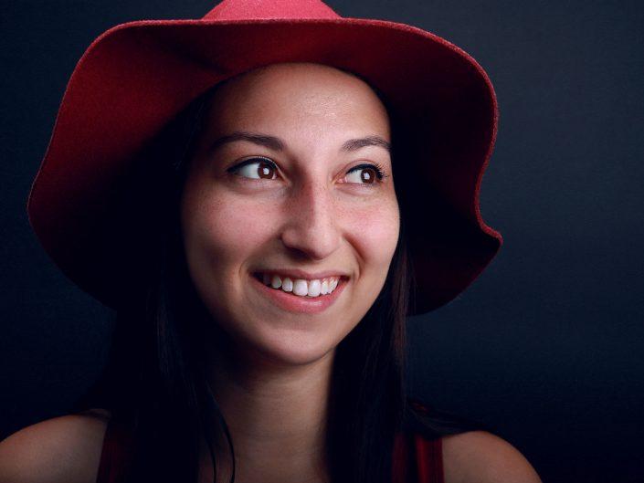 French Photographer Paris Studio Portrait Photography Portrait of a Woman Journalist
