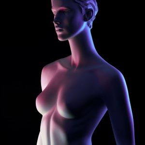 French Photographer Paris Studio Art Photography Mannequin with Color Lighting