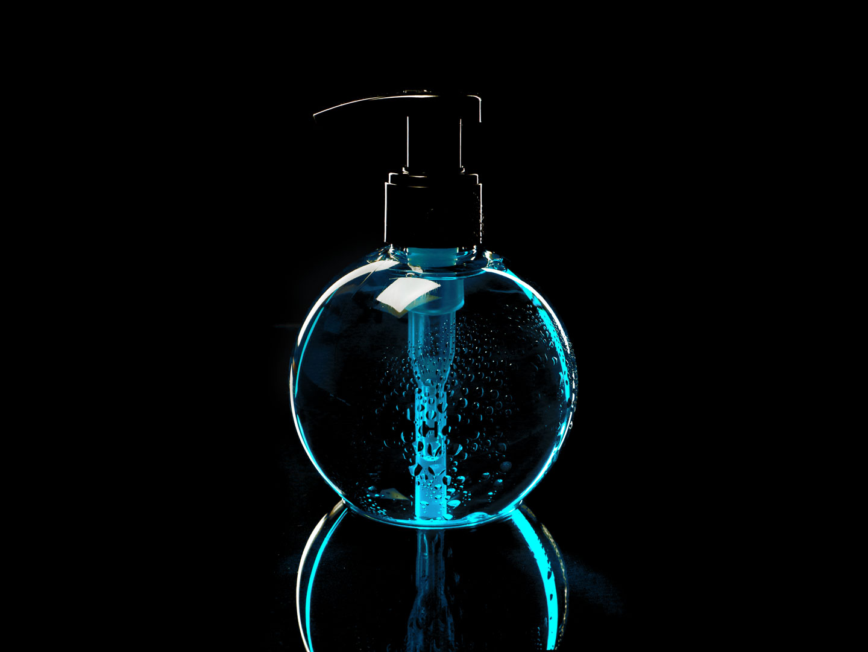 French Photographer Paris Studio Packshot Sephora Turquoise Soap Dispenser