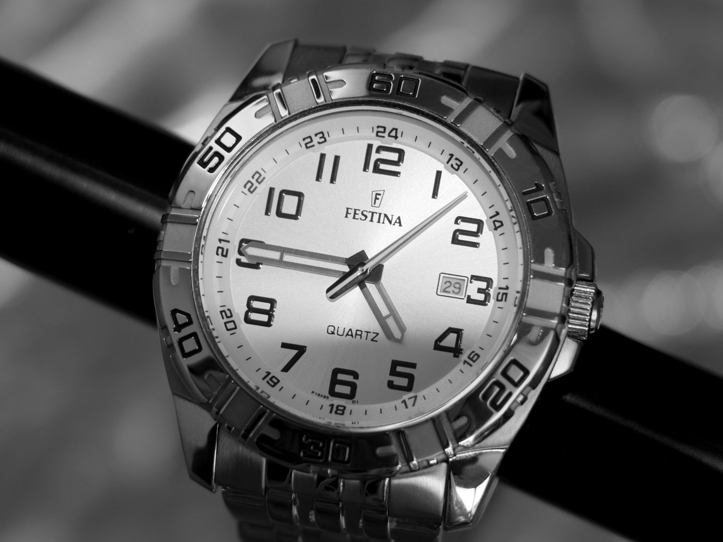 French Photographer Paris Studio Still Life Photography Silver Watch Festina