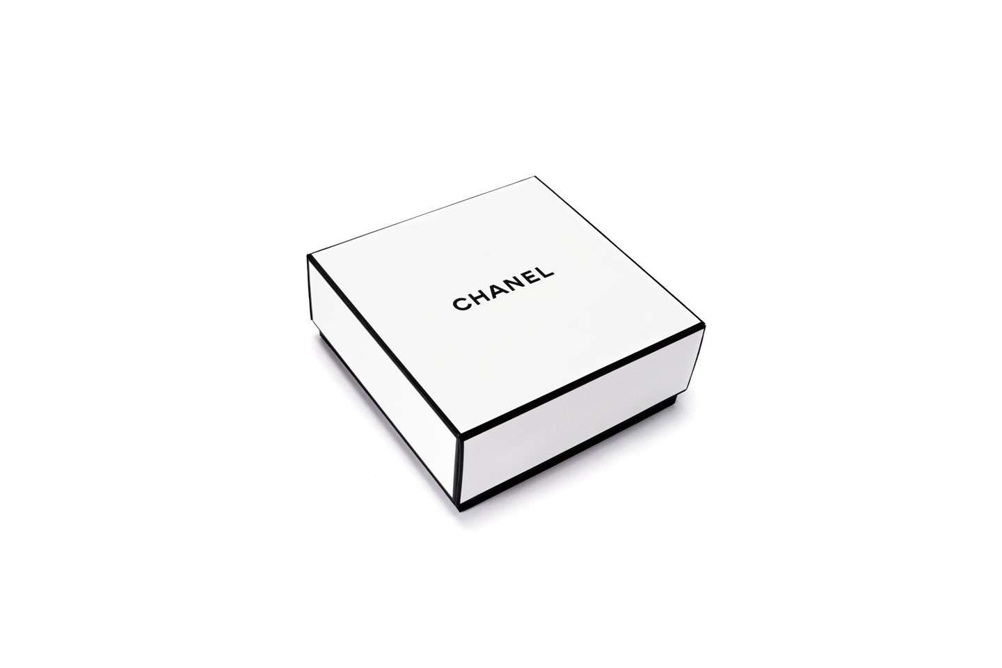 French Photographer Paris Studio Packshot White Chanel Packing Box