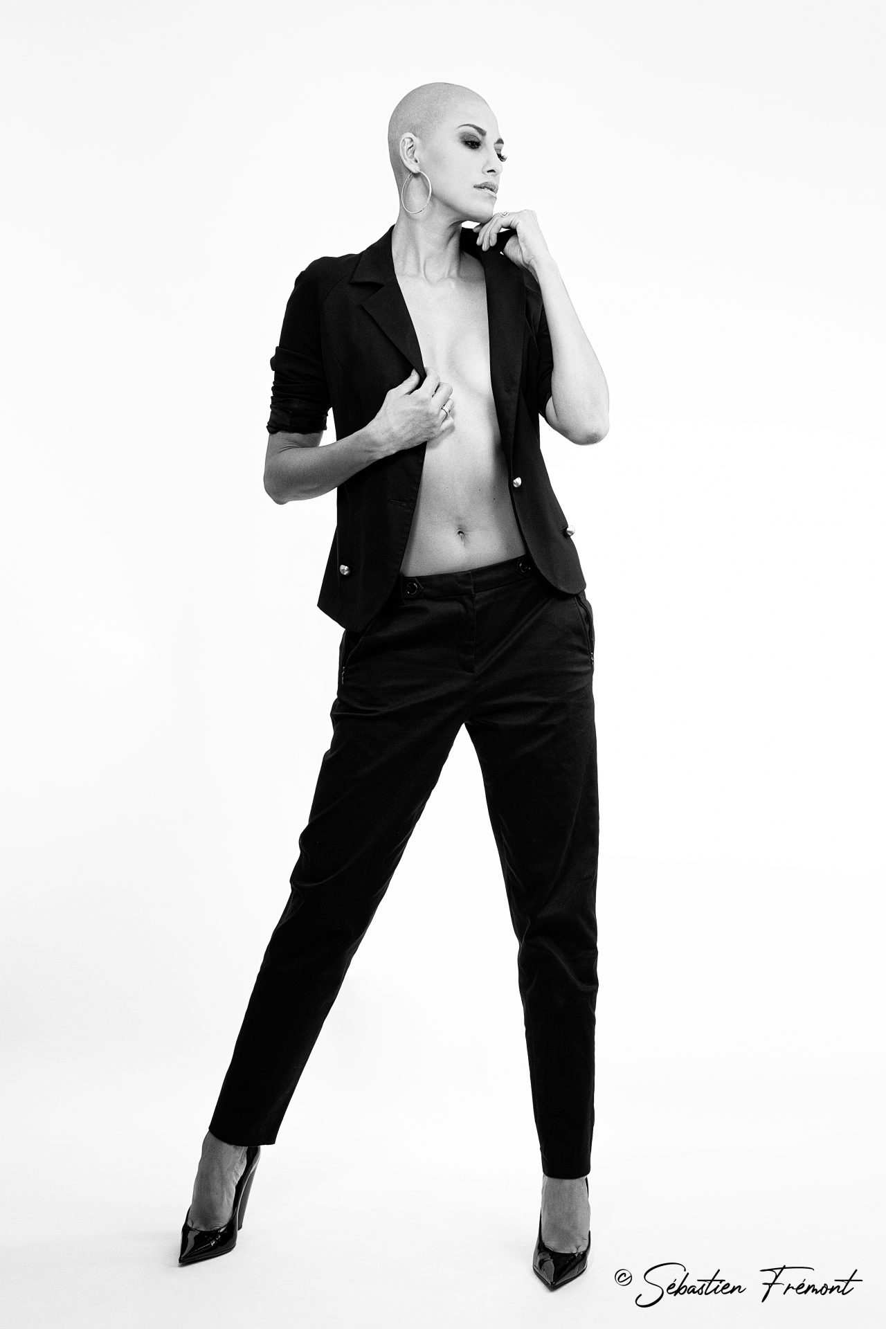 French Photographer Portrait Photography Abigail Lopez-Cruz / Fendi