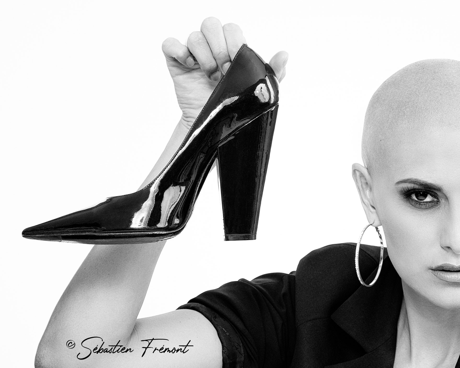 French Photographer Portrait Photography Abigail Lopez-Cruz / Givenchy