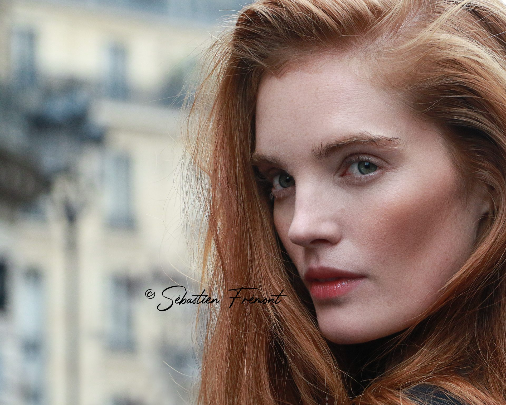 French Photographer Portrait Photography Alexina Graham / Balmain