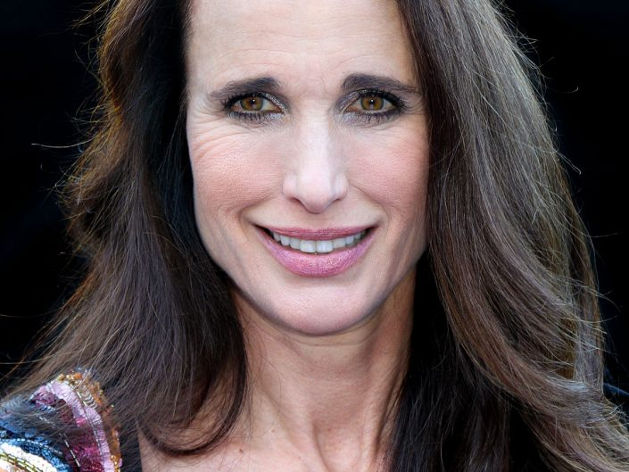 French Photographer Portrait Photography Andie MacDowell / L'Oreal