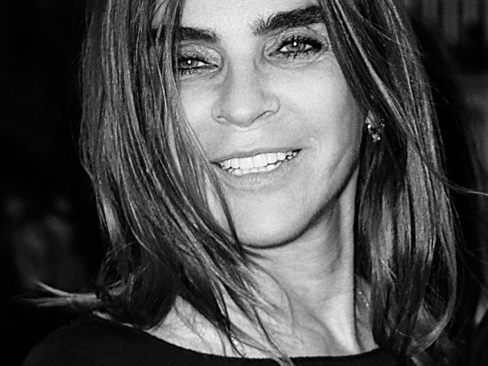 French Photographer Portrait Photography Carine Roitfeld / Celine