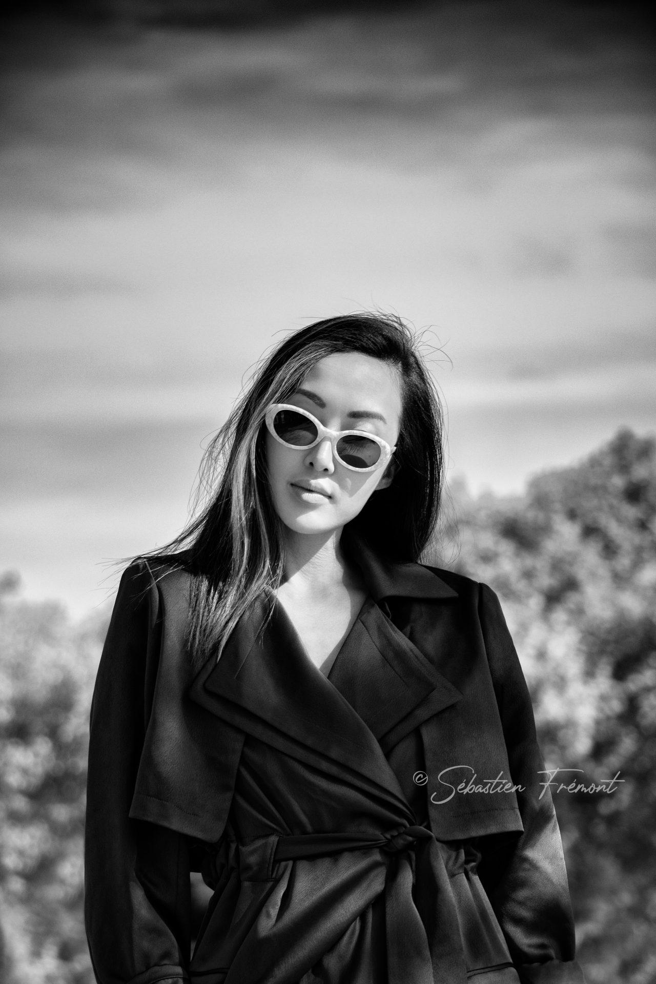 French Photographer Portrait Photography Chriselle Lim / Nina Ricci