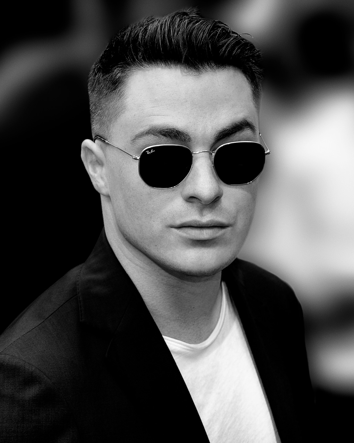 French Photographer Portrait Photography Colton Haynes / Ray-Ban
