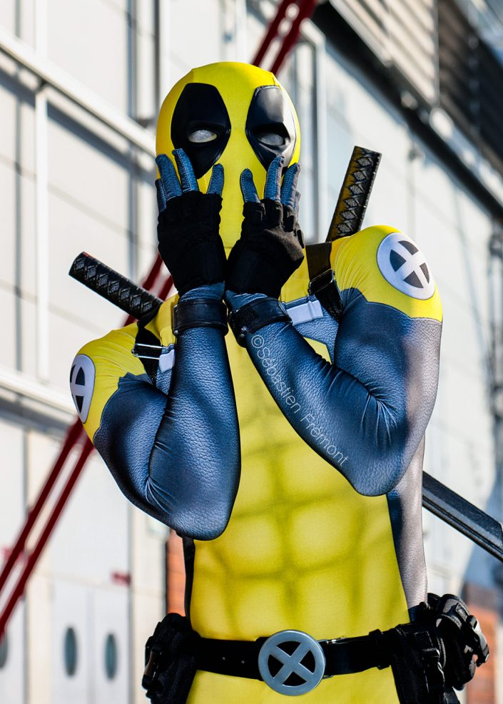 French Photographer Fashion Photography Cosplay / Deadpool