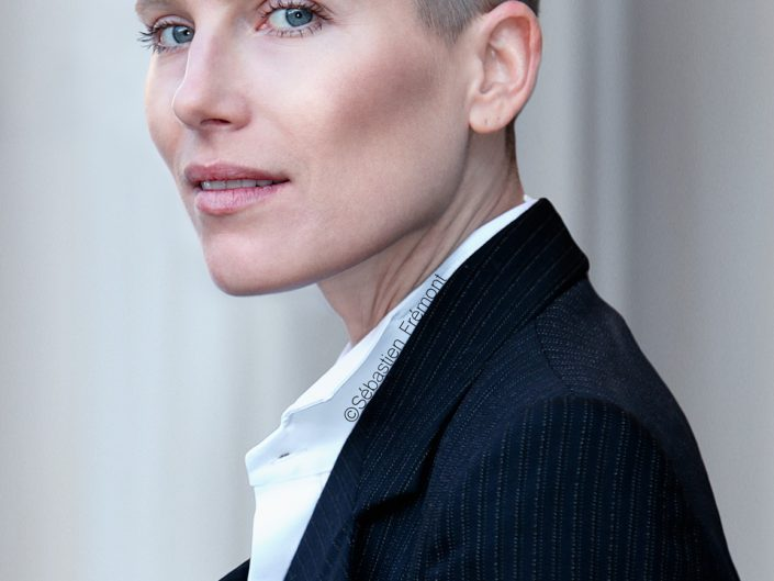 French Photographer Portrait Photography Dree Hemingway / Stella Mccartney