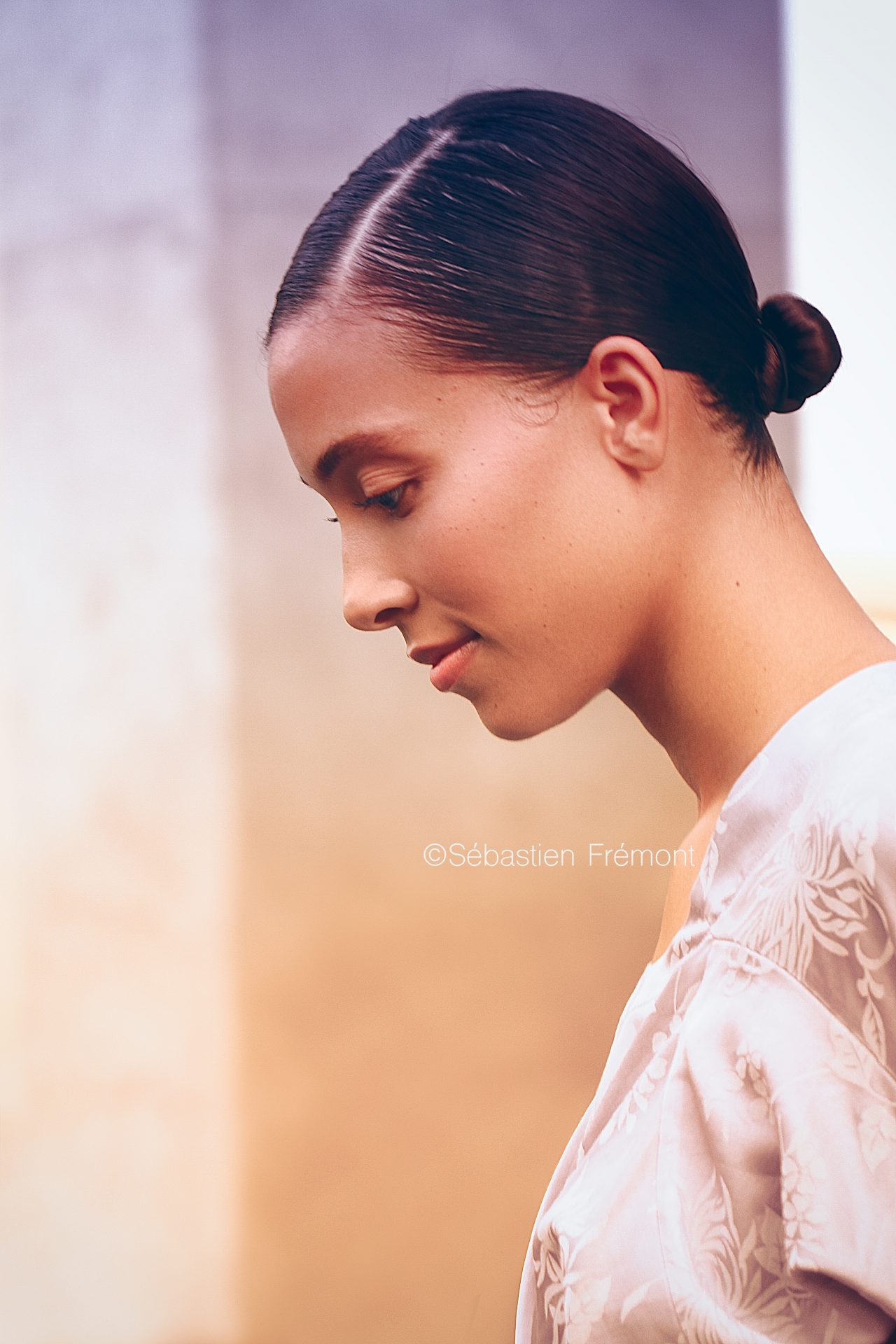 French Photographer Portrait Photography Model / Yang Li / Zen