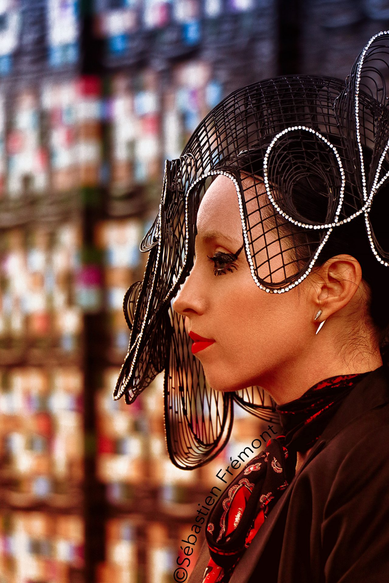 French Photographer Portrait Photography Model / Yang Li / Don't Kiss Me