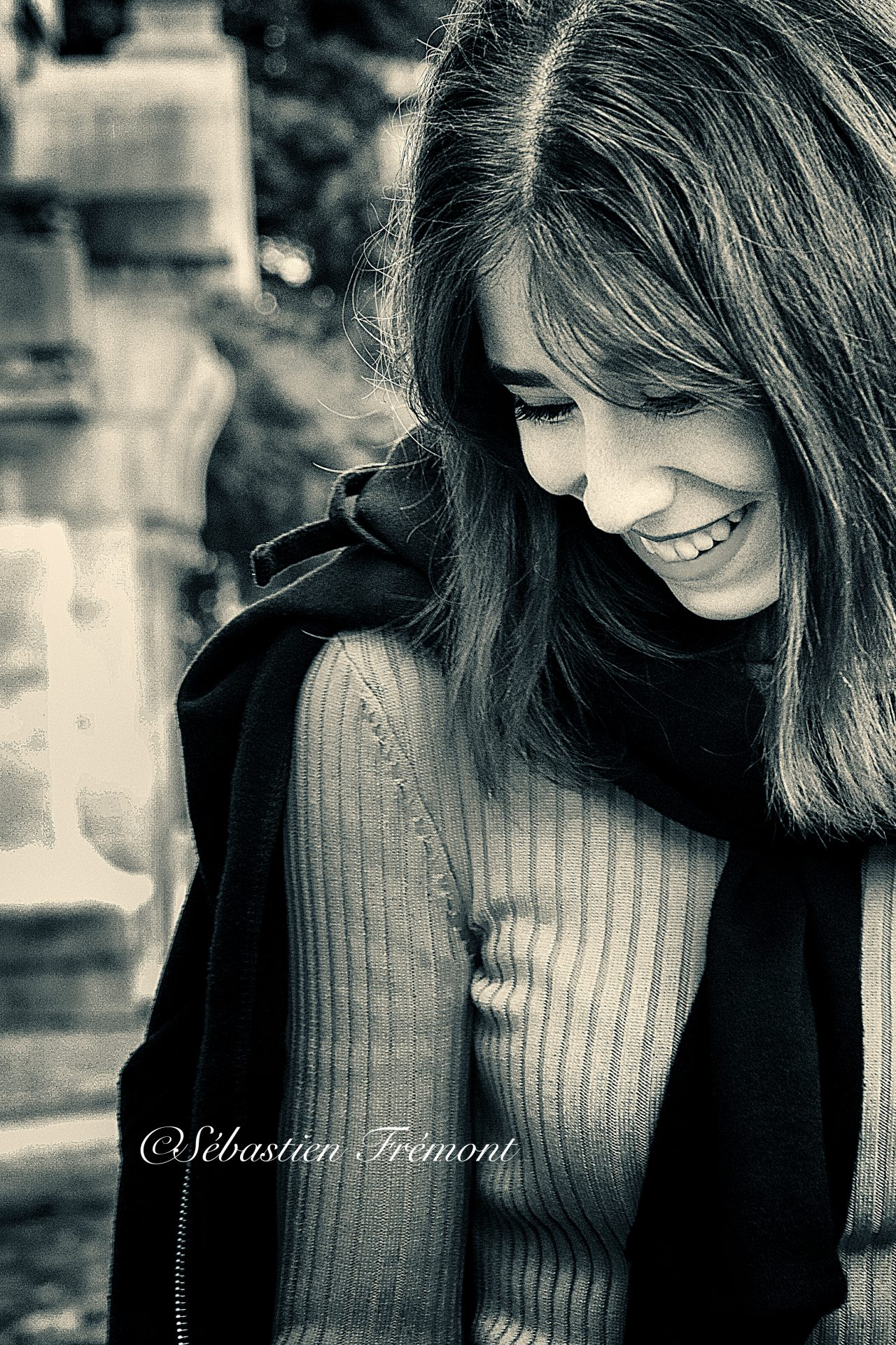 French Photographer Portrait Photography Smile