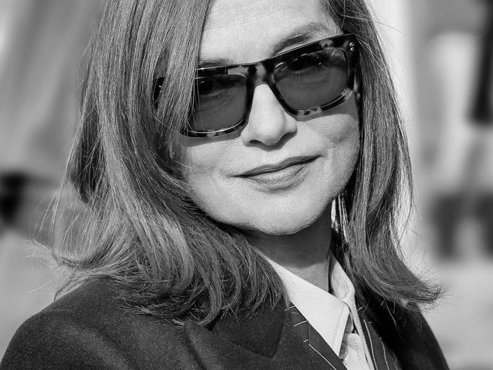 French Photographer Portrait Photography Isabelle Huppert / Stella McCartney