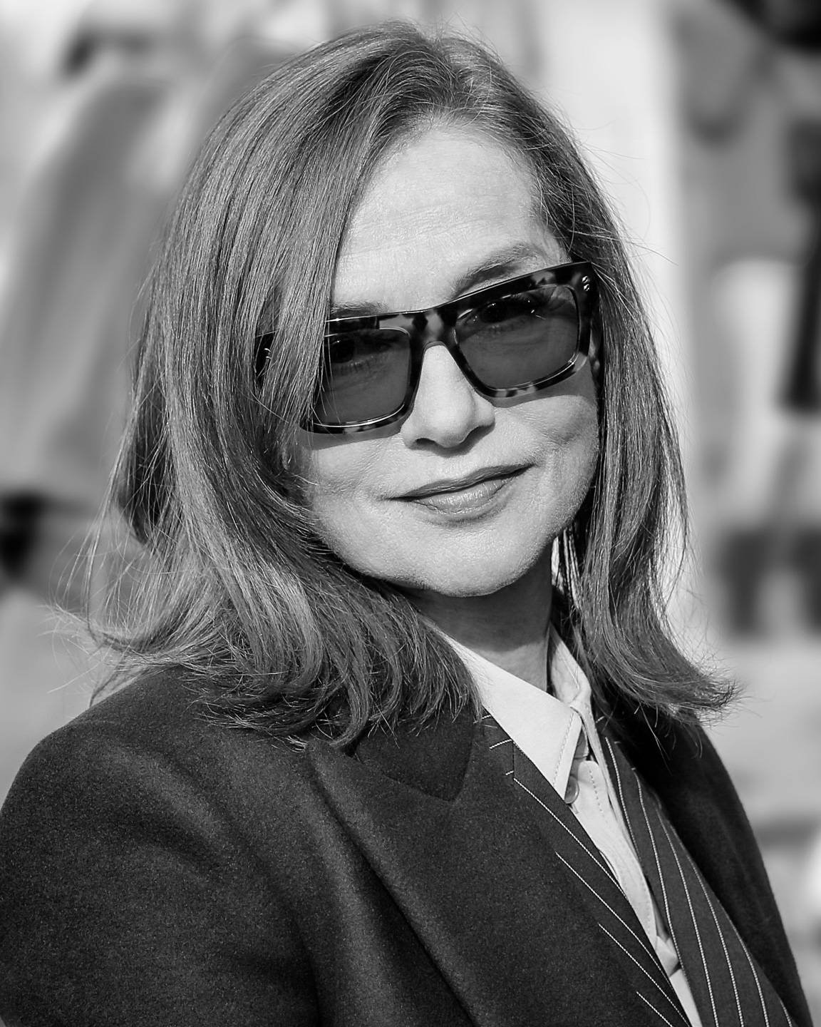 French Photographer Portrait Photography Isabelle Huppert / Stella McCartney