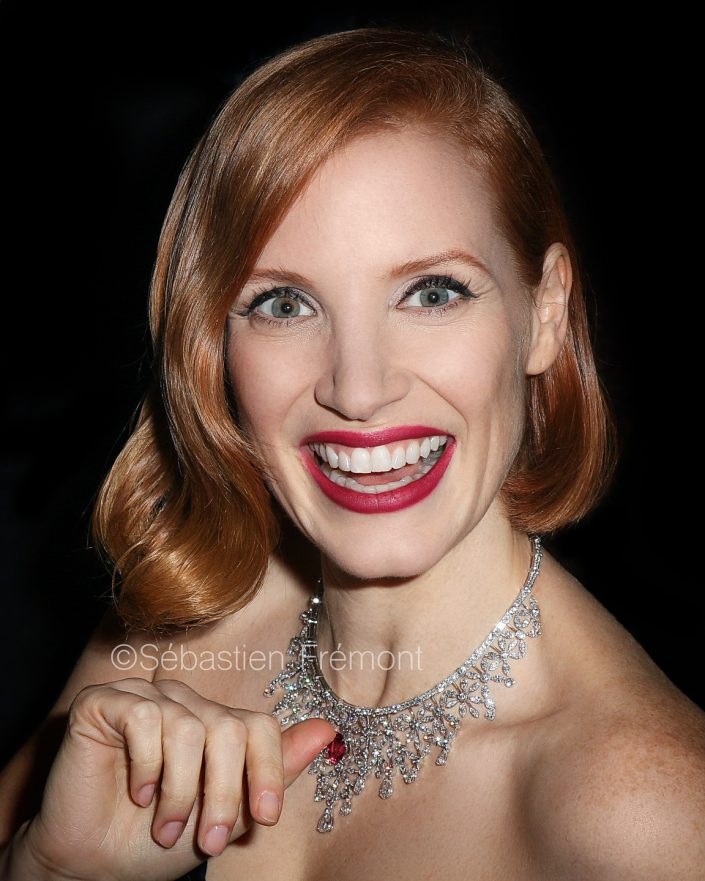 French Photographer Portrait Photography Jessica Chastain / Piaget