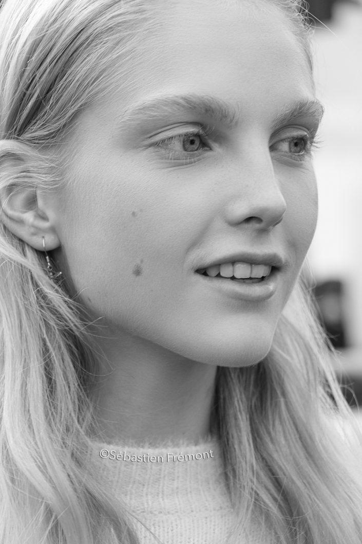 French Photographer Portrait Photography Kirin Dejonckheere / Christian Dior