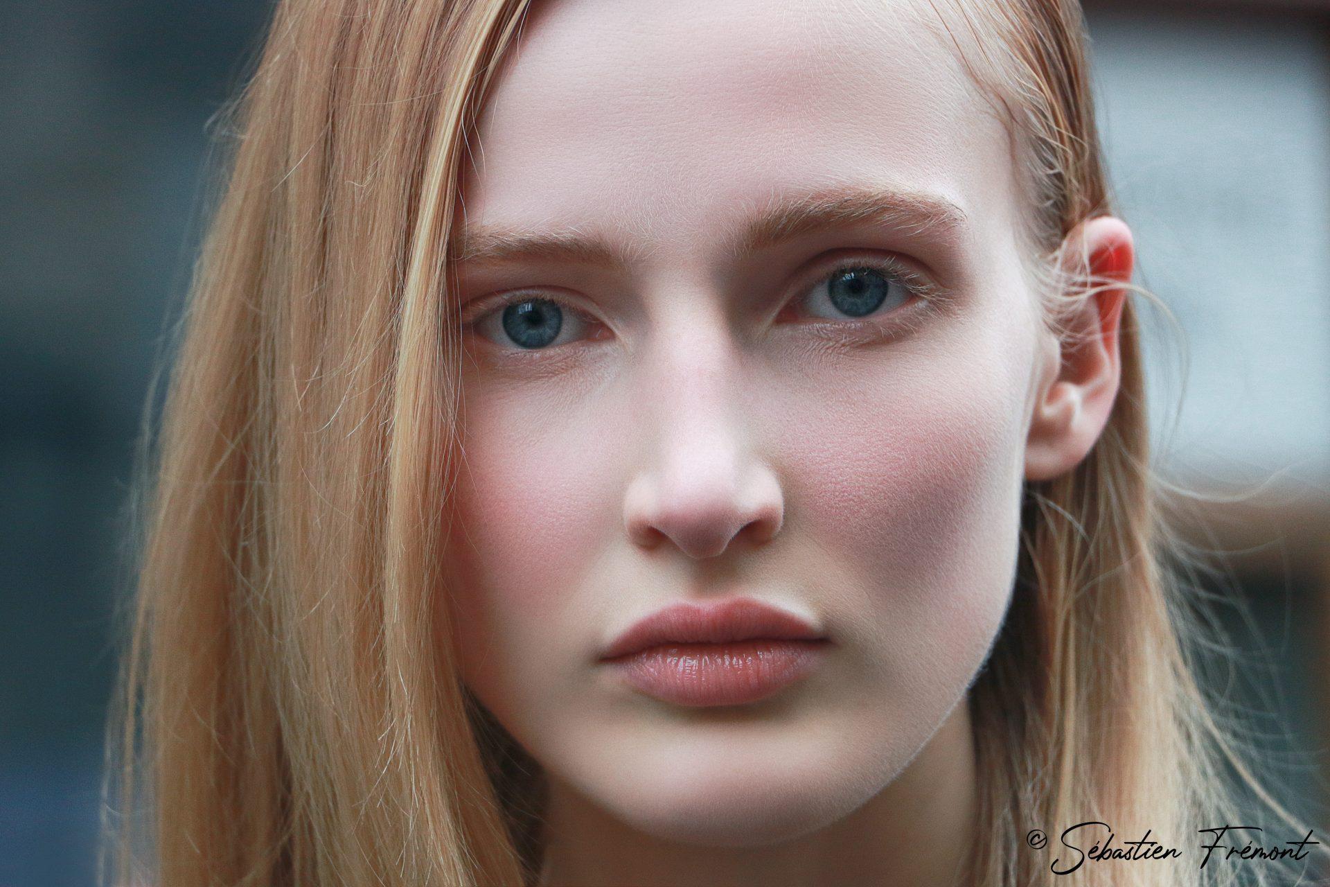 French Photographer Portrait Photography Leah Rodl / Balmain