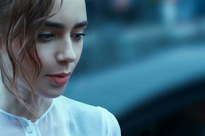 French Photographer Portrait Photography Lily Collins