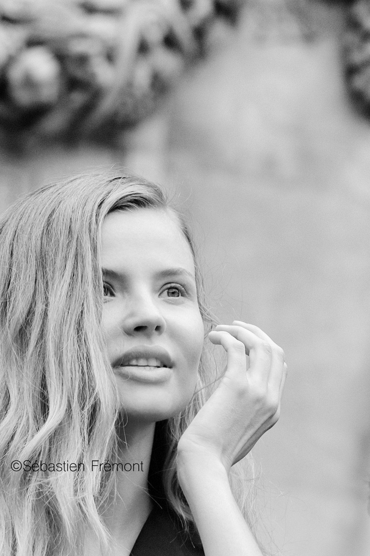 French Photographer Portrait Photography Magdalena Frackowiak / Balmain