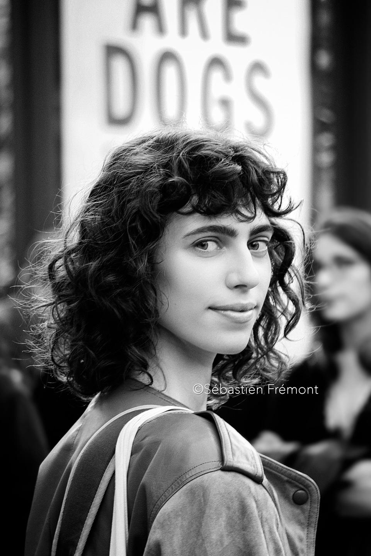 French Photographer Portrait Photography Mila Stomatova / Christophe Lemaire