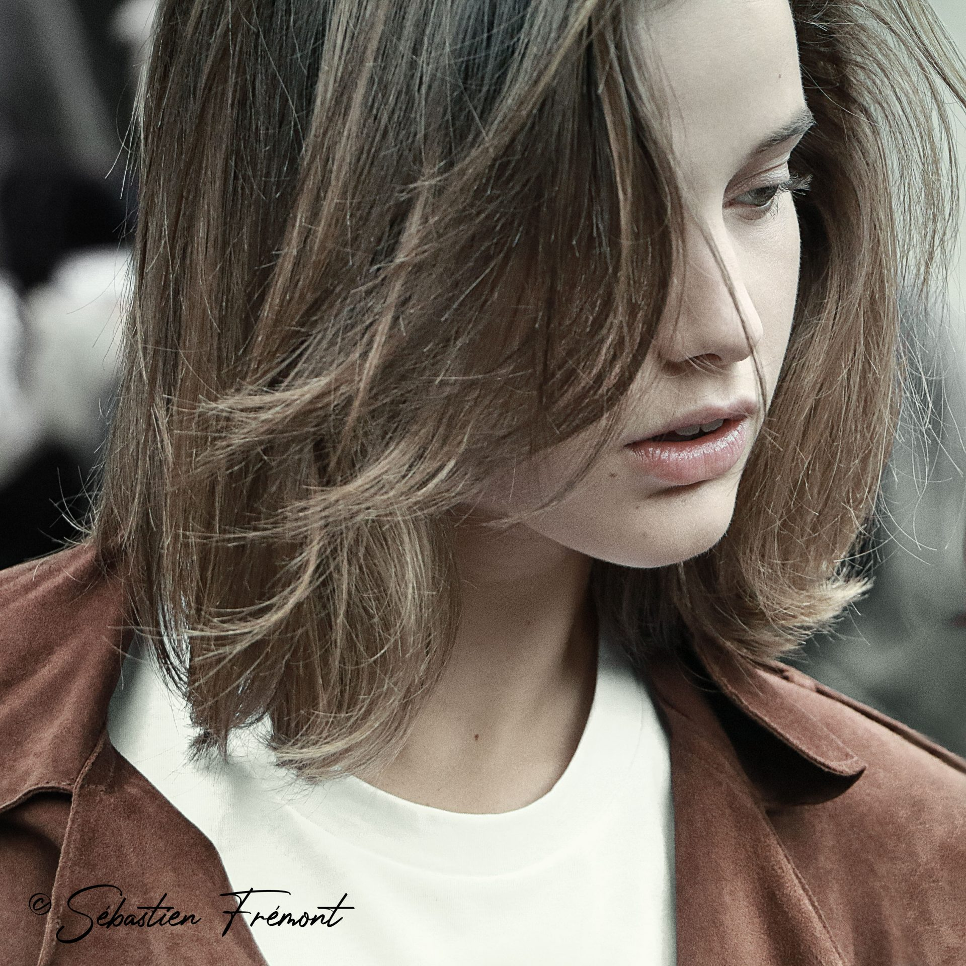 French Photographer Portrait Photography / Model / Balmain
