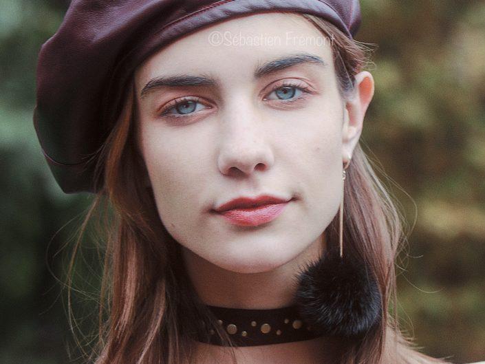 French Photographer Portrait Photography Model / Lanvin