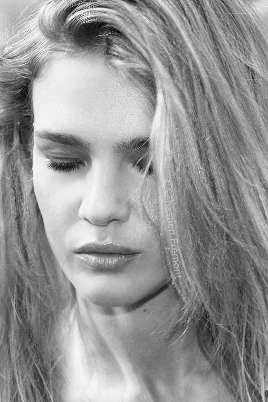 French Photographer Celebrity Portrait Natalia Vodianova / Christian Dior