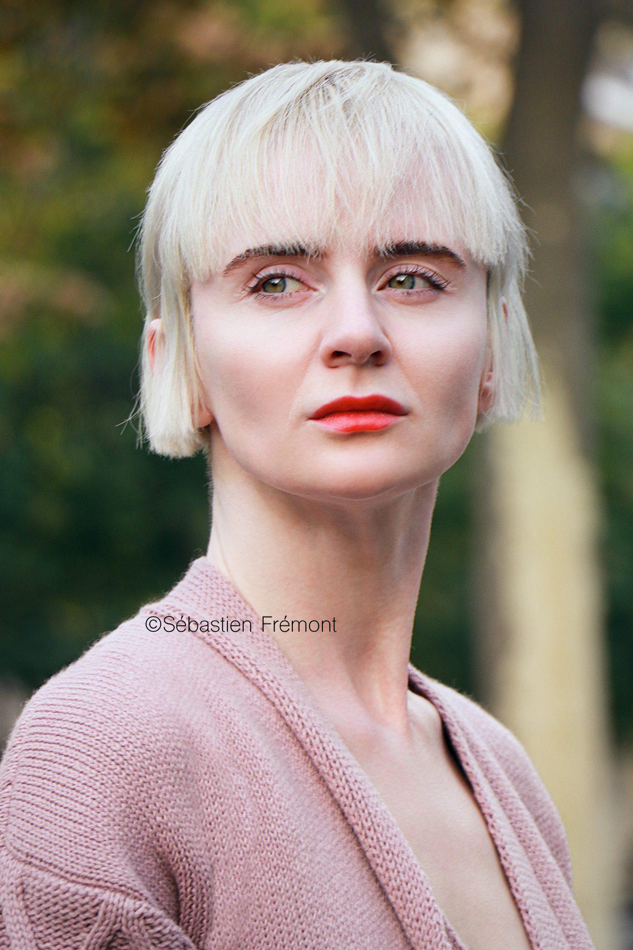 French Photographer Portrait Photography Olga Yanul / L'Officiel Ukraine/ Christophe Lemaire