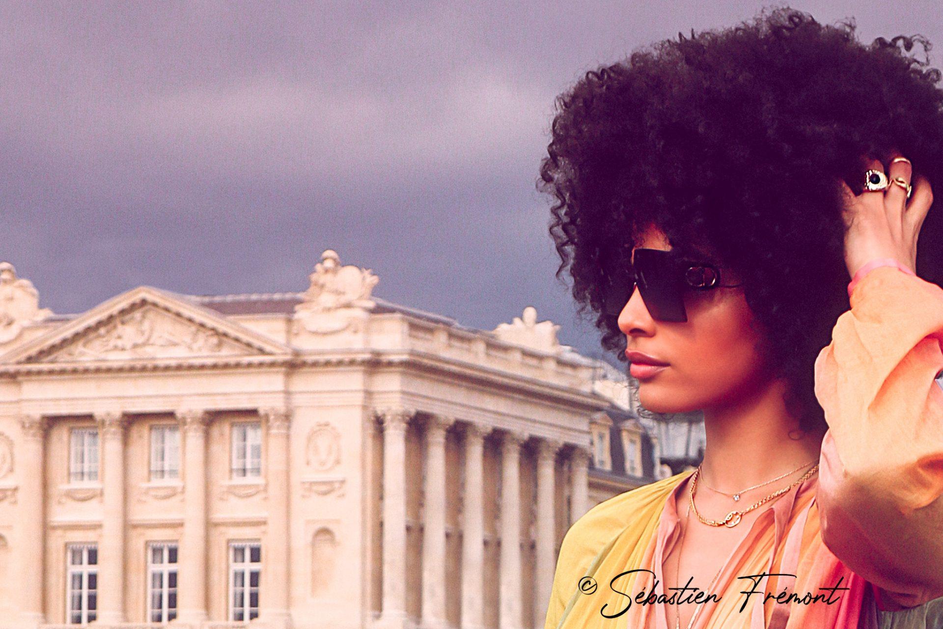 French Photographer Portrait Photography Sharon Alexie / Christian Dior