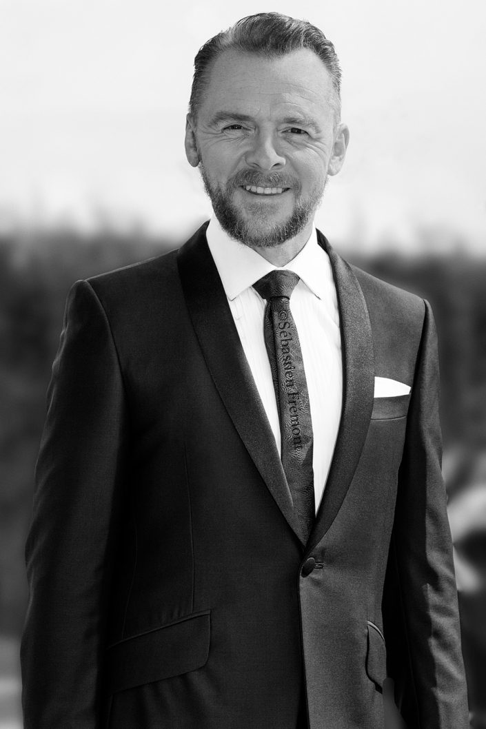 French Photographer Celebrity Portrait Simon Pegg / Mission: Impossible - Fallout