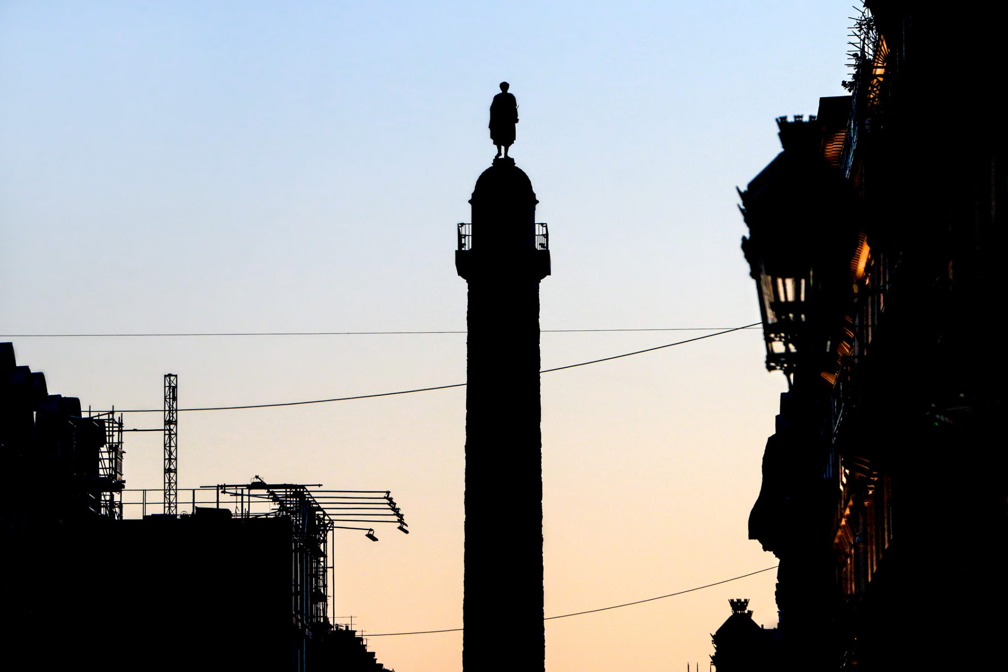 French Photographer Landscape Photography Place Vendôme at sunset