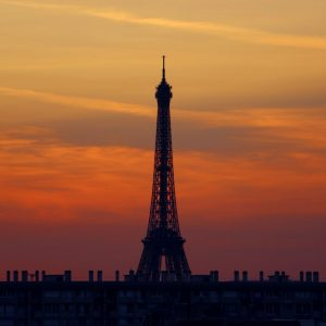 French Photographer Paris France Landscape Photography Eiffel Tower at sunset