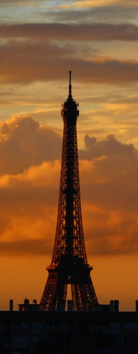 French Photographer Paris France Landscape Photography Turner Sunset at Eiffel Tower