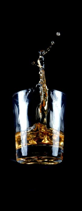 French Photographer Food Photography Falling Whiskey Glass